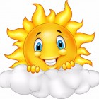 41386961-Smiling-Sun-Cartoon-Mascot-Character-Stock-Vector-smiley